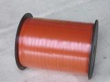 Ringelband Kräuselband Orange