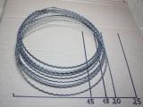 Kranzbindereifen gewellt 20 cm