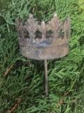 Kerzenstecker Rostige Krone
