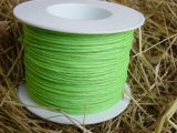 Draht Kordel Farbe Grün