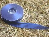 Schleifenband mit Drahtkante Dunkel Blau