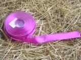 Schleifenband mit Drahtkante Pink