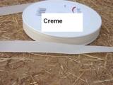 Deko Stoffband Creme